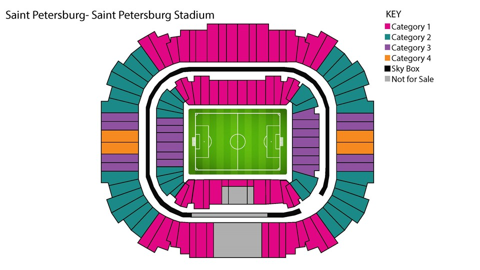 استادیوم Saint Petersburg Stadium